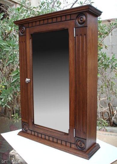 Rostte Walnut Medicine Cabinet
